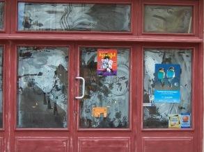 Warehouse Door, Avignon, France April 2009