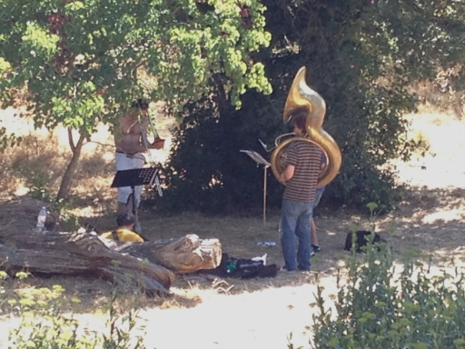 Brass Band Musicians, Les Calanques, Marseille, France 2014