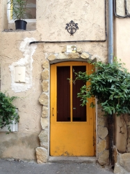 Cadmium Yellow Door, L'Isle sur la Sorgue, France - 2014