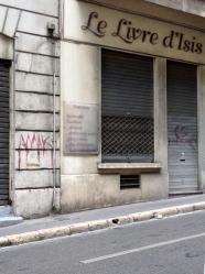 Le Livre d'Isis, Street Scene, Marseille, France 2014