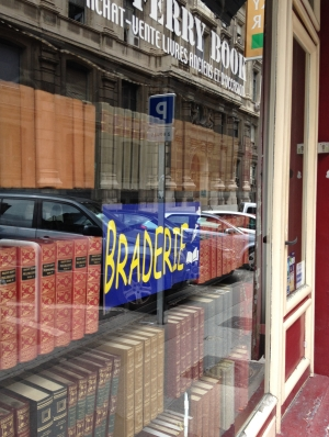 BRADERIE, window reflections, Marseille, France 2014
