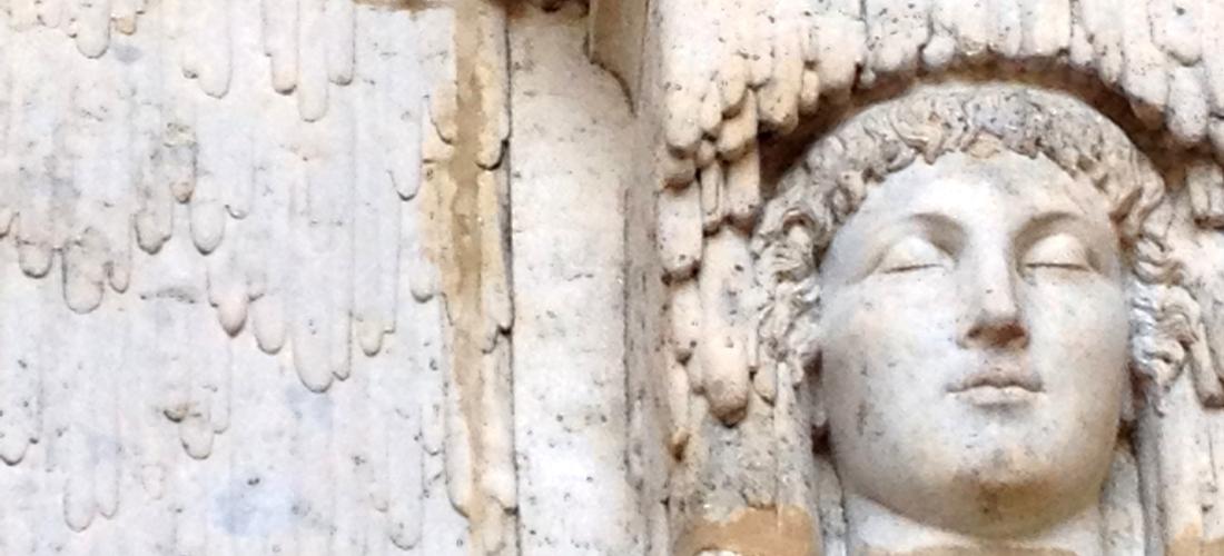 Palais Longchamp Grotto Sculptures, Marseille, France - June 2014
