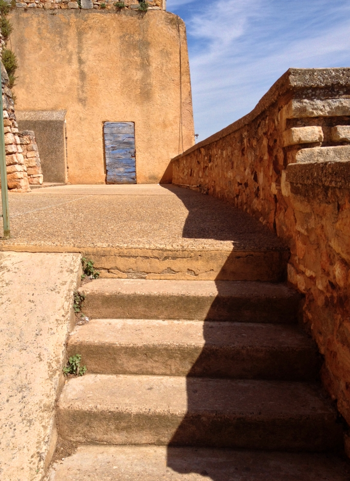 Stairs, Roussillon, France 2014