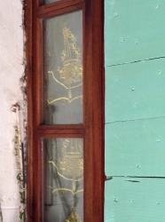 Window, Viens, France 2014