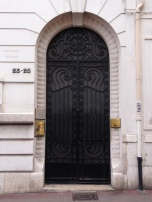 bk Utilities Cover Black Door Marseille France ChrisCarterArtist photographs 2014 062914