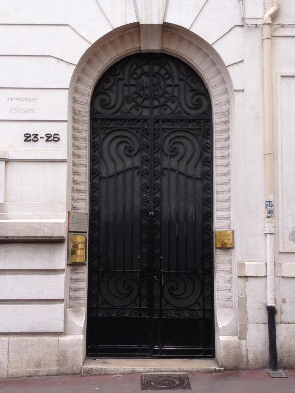bk Utilities Cover Black Door Marseille France ChrisCarterArtist photographs 2014 062914