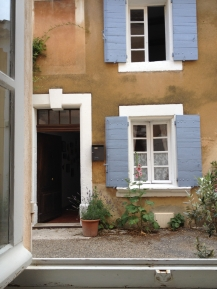 View through my bedroom window, Les Bassacs, France 2014