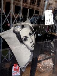 bkyes Marseille France window reflections street art Twiggy chriscarterartist Photography 062814