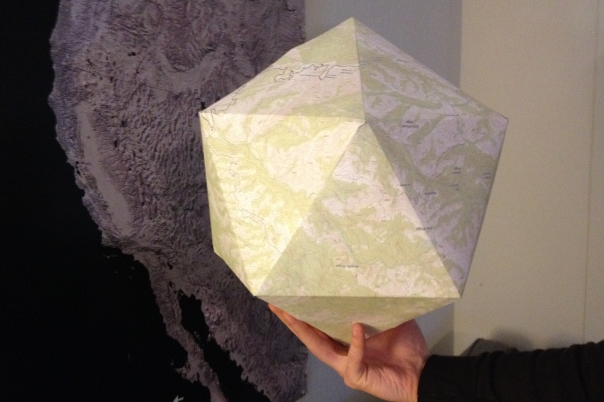 Icosahedron-California-Coast-topographical-map-streetsmartgeometry-project-chris-carter-art-feb-2014