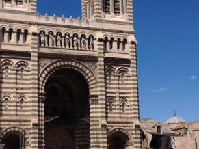 les cathedrales de la major nouvelle major Marseille