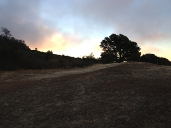 Sunrise atop Mount Diablo