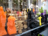 Religious knick knacks Marseille France chriscarterartist photography 062814