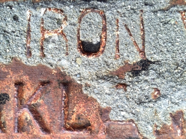 Iron - StreetArt, Mountain View, CA - Nov 2014
