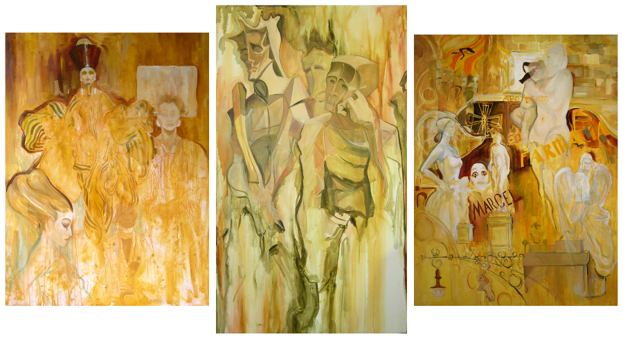Barcelona Oil Paintings chriscarterartist Spain 900